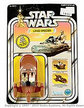 Kenner Star Wars Landspeeder diecast metal