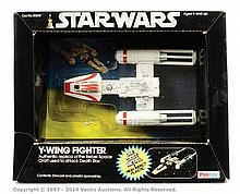 Palitoy Star Wars Y-Wing Fighter diecast
