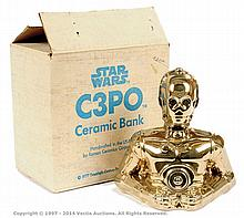 Roman Ceramics Star Wars C-3PO ceramic bank