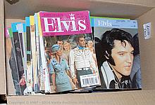 QTY inc Elvis Monthly magazine, No.300 to 306