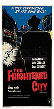 THE FRIGHTENED CITY (1961) Film Poster.