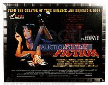 PULP FICTION (1994) Film Poster. UK Quad, DS