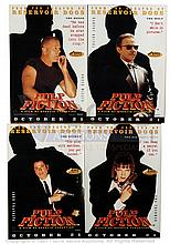 GRP inc PULP FICTION (1994) Film Poster Set. UK