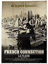 THE FRENCH CONNECTION (1971) Film Poster. French