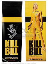 KILL BILL (2003) Film Poster. UK Door Banner