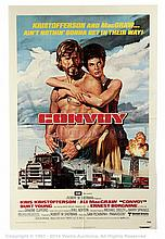 CONVOY (1978) Movie Poster. US One Sheet, SS