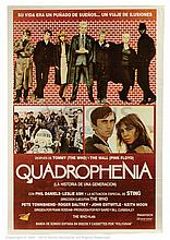 QUADROPHENIA (1979) Movie Poster. Argentinian