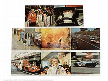 LE MANS (1971) US Lobby Cards. Complete Set