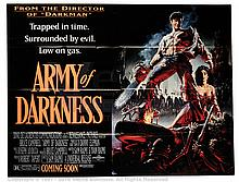 ARMY OF DARKNESS (1992) Film Poster. US Subway