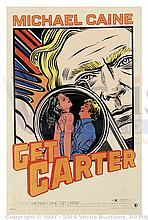 GET CARTER (1971) Film Poster. US One Sheet, Art