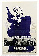 GET CARTER (1971) Movie Poster. US Spanish One