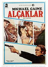 GET CARTER (1971) Film Poster. Turkish One