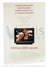 NATURAL BORN KILLERS (1994) Film Poster. US One