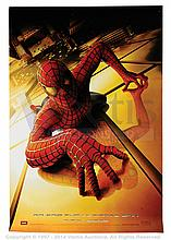 SPIDER-MAN (2002) Film Poster. US One Sheet