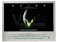 ALIEN (1979) Film Poster. UK Quad (R-2003)
