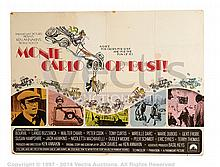 MONTE CARLO OR BUST (1969) Film Poster. UK Quad