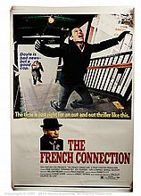 FRENCH CONNECTION (1971) Film Poster. US 40x60