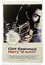 DIRTY HARRY (1971) Film Poster. Spanish One