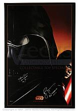 STAR WARS: REVENGE OF THE SITH (2005) Signed