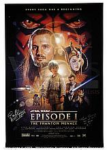 STAR WARS: THE PHANTOM MENACE (1999) Signed Film