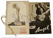 PAIR inc IíM NO ANGEL (1933) Movie Programme