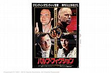 PULP FICTION (1994) Film Poster. Japanese B2