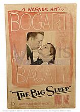 THE BIG SLEEP (1946) Movie Poster. US One Sheet