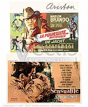 GRP inc BELGIAN SMALL Film Posters. THE CHASE
