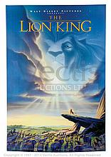 THE LION KING (1994) Film Poster. US One Sheet