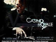 CASINO ROYALE (2006) Film Poster. UK Quad