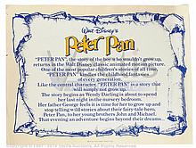 PETER PAN (1953) Film Posters (2)
