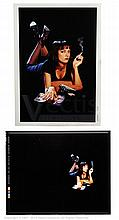 PULP FICTION (1994) Film Poster Acetate. 10î