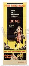 PICKUP ALLEY (1957) Movie Poster. US Insert, SS