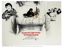 STRAW DOGS (1971) Film Poster. UK Quad, SS