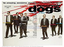RESERVOIR DOGS (1992) Film Poster. UK Quad, DS