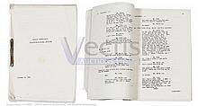 RESERVOIR DOGS (1992) Script. Facsimile copy