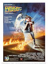 BACK TO THE FUTURE (1985) Movie Poster. German