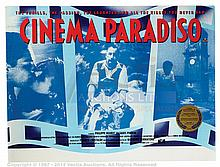 CINEMA PARADISO (1988) Film Poster. UK Quad