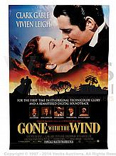 GONE WITH THE WIND (1939) Film Poster. US One