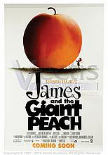 JAMES AND THE GIANT PEACH (1996) Film poster. US