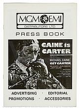 GET CARTER (1971) UK Press Book. Complete