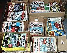 QTY inc Auto Trader - magazines from the 1980s