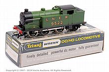 Wrenn W2217 0-6-2 Tank Loco LNER green No.9522