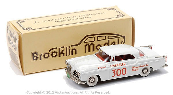 Brooklyn Models No.19X 1955 Chrysler C300
