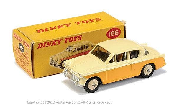 Dinky No.166 Sunbeam Rapier Saloon - cream