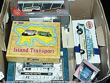 GRP inc Corgi, Matchbox, EFE boxed Bus