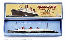 Dinky No.52 Cunard White Star Liner No.534