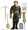 Palitoy vintage Acton Man Combat Construction