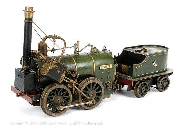 An early 20th Century live steam model, 3 ‡î