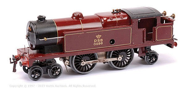 Hornby O Gauge No.2 (export) Clockwork 4-4-2